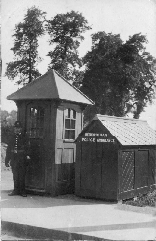 online museum metropolitan police metropolitan police ambulance shed